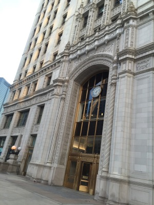"""""""The Wrigley Building Chicago Is"""""""